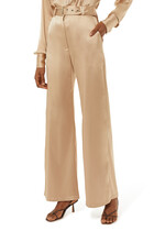 Maisa Satin Flared Pants